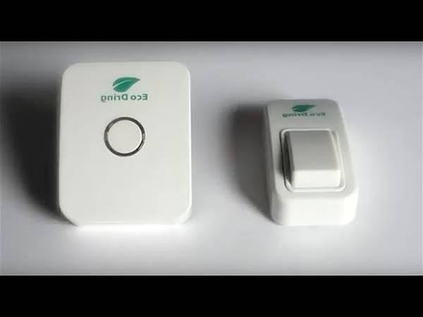 Sonnette sans fil sans pile étanche carismart interrupteur sans fil sans pile occasion pas cher à vendre